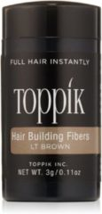 Toppik haargroei vezels Hair Building Fibers Travel - 3 gram - Lichtbruin