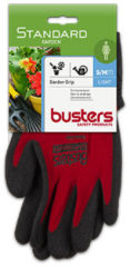 Rode Busters handschoenen Garden grip nylon/HPT rood M7
