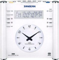 Sangean RCR-3 Design Uhrenradio, Radiowecker mit Funkuhr