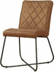 Teakea Rodeo sidechair | 66x52x85 | Cognac