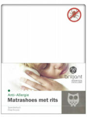 Briljant Matrasvernieuwer/beschermer Anti Allergie Evolon (15cm)-70 X 150 Cm