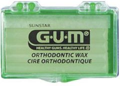 Gum Orthodontische Wax Mint Beugelreiniging - 1 st - Beugelverzorging