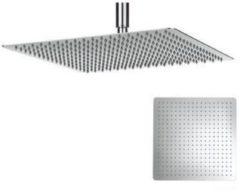 Crosswater Glide hoofddouche vierkant 40cm extra dun chroom FH440SR+