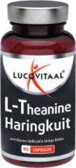 Lucovitaal L Theanine Omega 3 - 90 Capsules - voedingssupplement