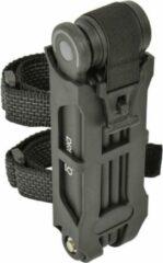 Dresco Vouwslot - 5,5x19cm - Met steun - Zwart