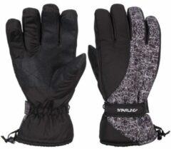 Zwart/witte wintersport handschoenen Starling Noel met Thinsulate vulling voor volwassenen