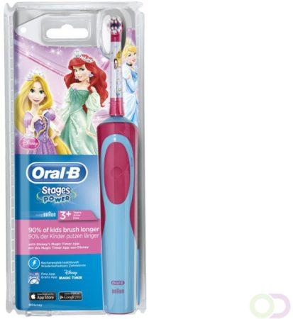 Afbeelding van 6x Oral-B Kids Vitality Princess Elektrische Kindertandenborstel