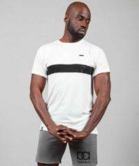 Marrald phantom sportshirt wit heren fitness crossfiets shirt tanktop performance
