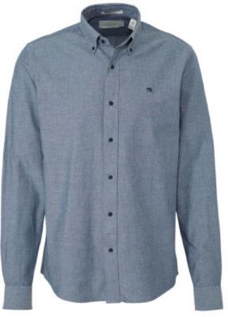 Afbeelding van Blauwe Scotch & Soda regular fit overhemd