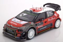 Rode Citroen C3 WRC 2017 Official Presentation Version Lefebvre/Meeke/AlQassimi/Breen 1-18 Norev