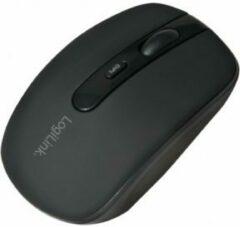 Zwarte LogiLink ID0078A muis Bluetooth Optisch 1600 DPI Ambidextrous