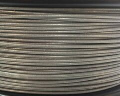 Zilveren Bits2Atoms PLA filament silver 1,75mm 750gram