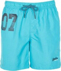 Blauwe Superdry Zwemshorts Waterpolo Swim Short