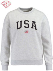 America Today sweater Soel grijs