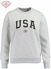 America Today Sweater soel grijs