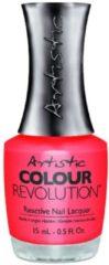 Artistic Nail Design Colour Revolution Haute Cout Orange
