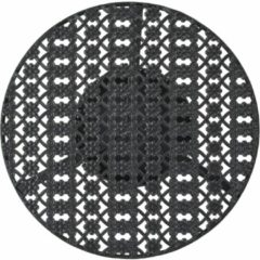 5 days Bistrotafel vintage stijl rond 40x70 cm metaal zwart