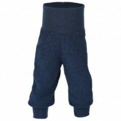 Engel - Baby-Hose Lang mit Nabelbund - Fleecebroek maat 74/80, blauw