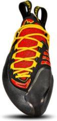 Rode La Sportiva Genius klimschoenen Heren geel/rood Maat 42,5