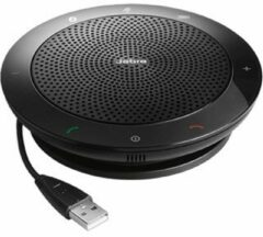 Zwarte Jabra Speak 510 UC inkl. Link 360 UC Mini USB Adapter Conference room loudspeaker Bluetooth, USB 2.0 Black
