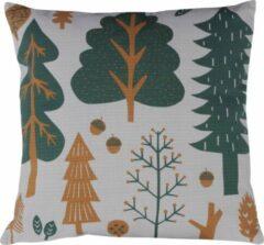 Groene Donna Wilson kussen Forest grijs