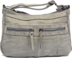 Bicky Bernard schoudertas - ideaal tassen van Bicky Bernard WDL029 grijs