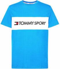 Blauwe T-shirt Tommy Hilfiger S20S200375