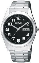 Zilveren Lorus RXN13CX9 - Horloge - 37.5 mm - stalen rekband