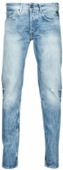 Blauwe Straight Jeans Replay WIKKBI