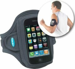 Zwarte Tune Belt AB82 Sport Armband o.a. geschikt voor iPhone / Samsung / Nokia / Blackberry