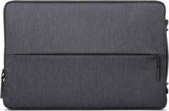 Lenovo 15.6-Inch Laptop Urban Sleeve Case - Spatwater bestendige Hoes - Travel Case - 15.6 Inch - Corner bump - Houtskool Grijs