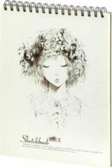Witte Dreamnotes D5061-2 Schetsboek girls dream 288 x 215 mm 100 grams 50 p