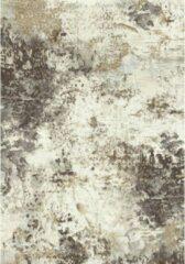 Eurogros Vintage Vloerkleed - Geel/Wit - Stijlvol - Duurzaam - Anti allergie - Onderhoudsvriendelijk - Luxueus - Geluiddempend