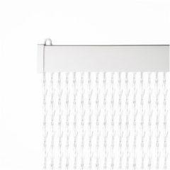 2Lif Vliegengordijn Paris - 93x210 cm - Transparant