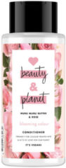 Love Beauty and Planet Muru Muru Butter & Rose blooming colour conditioner - 400 ml