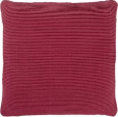 Bordeauxrode Dutch Decor Klune - Sierkussen - 45x45 cm - Bordeaux