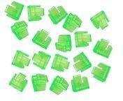 Lindy LAN-Portblocker - grün (Packung mit 20) 40473