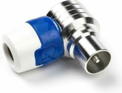 Hirschmann KOSWI 5 Coax IEC (m) push-on connector / haaks