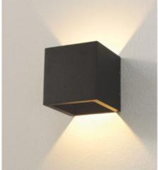 Artdelight Dim-to-warm muurspot Cube-Dtw WL CUBE-DTW ZW