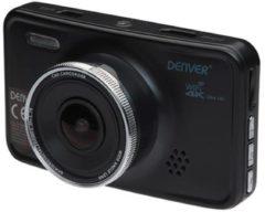 Denver CCG - 4010 / Black Box Car Camera / Ingebouwde microfoon / GPS Functie / Wi-Fi functie / Automatisch opnemen / G-sensor / Zwart
