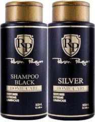 KIT PATINE SILVER HOME CARE ROBSON PELUQUERO 2 X 300 ML