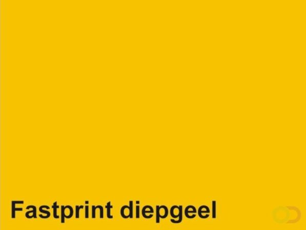 Afbeelding van Kopieerpapier Fastprint A3 80 gram diepgeel 500 vel