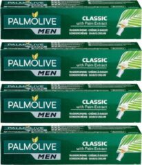 Palmolive Men Scheercrème Classic Palm extract - 4 x 100 ml