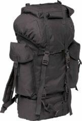 Zwarte Brandit Nylon Military Backpack black