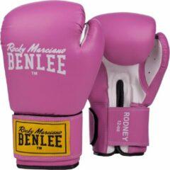 Benlee Rodney Bokshandschoenen Vechtsporthandschoenen - Unisex - roze/wit/geel