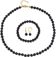 3-delige sieradenset KLiNGEL Zwart