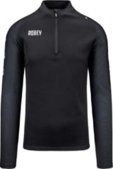 Zwarte Robey Performance Half-Zip Top