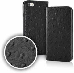 Merkloos / Sans marque Smart Dots Wallet Case voor iPhone 6 / 6s Zwart