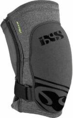 IXS - Flow Zip Knee Pad - Beschermer maat S, zwart/grijs