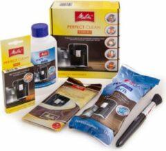 Melitta perfect Clean complete set onderhoud espresso machines - waterfilter, ontkalker, reinigingstabletten, borstel reiniging, doek